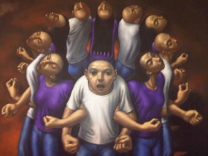 """DEKALOGO"" by Elmer Borlongan"