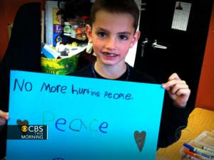 Martin Richard, the 8-year-old victim of the the Boston Marathon bombings. Photo from CBSnews website