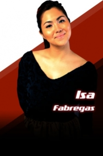 ISABELLA FABREGAS: The Church singer can rock it. photo from thevoice.abs-cbn.com
