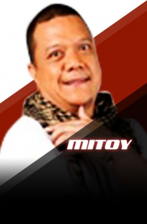 MITOY YONTIN formerly performed in TV comedy shows and is the lead singer of the band, Draybers. Photo from thevoice.abs-cbn.com