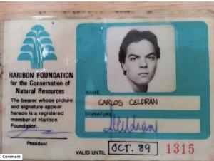 Carlos Celdran…. on a Throwback Monday find