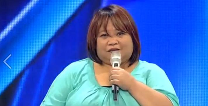 Osang, auditioning for X-Factor Israel