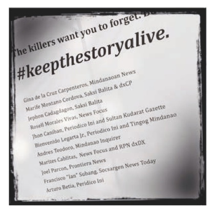 keep the story alive
