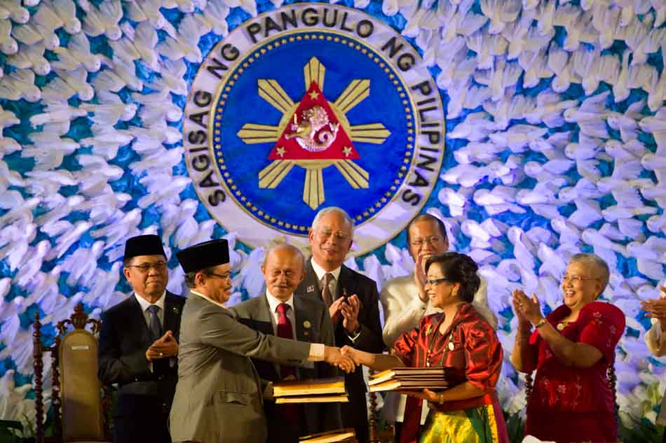 A dream interrupted: To the MILF, genuine peace will come only when the comprehensive peace agreement is finally implemented. Passage of a BBL is the first step. Photo by abs-cbnnews.com