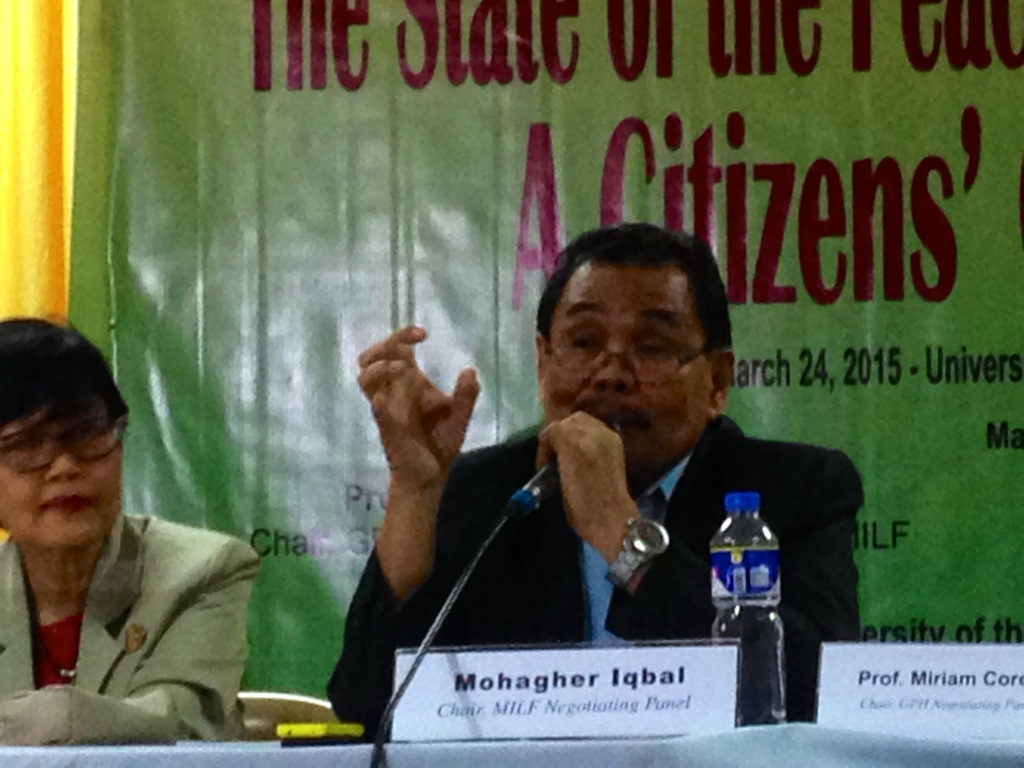 Moro Islamic Liberation Front (MILF) chief negotiator Mohagher Iqbal explains why the Bangsamoro need genuine self-determination.
