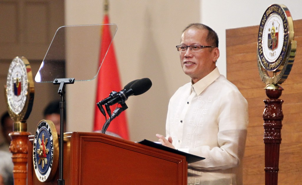 President Beningo Aquino III delivers his last State of the Nation Address (SONA). Photo by gov.ph