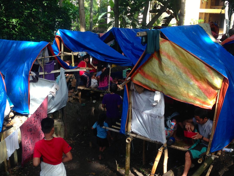 Displaced Lumad in Haran, Davao City. (Photo by inday espina-varona)
