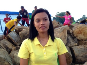 Michelle Campos, daughter of slain lumad leader, Dionel Campos. Photo by inday espina-varona