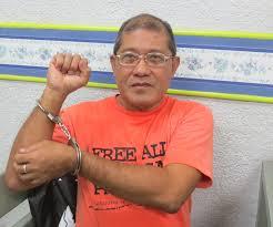 Eduardo Serrano. Photo by Karapatan