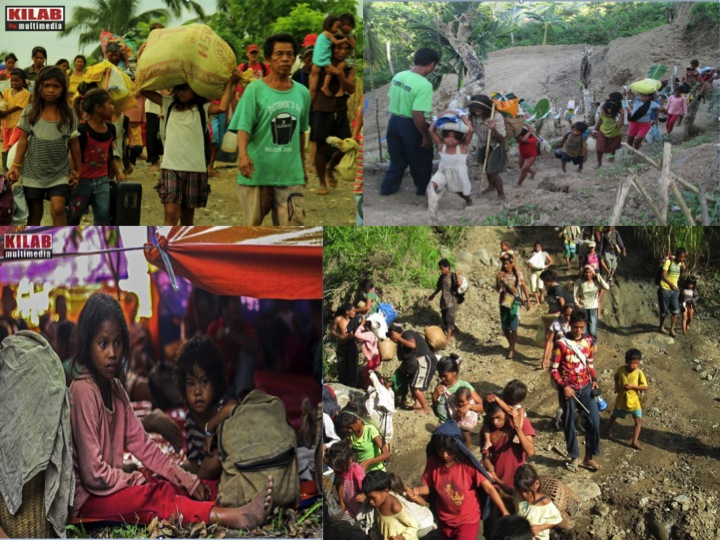 "Agusan, Bukidnon, Davao del Norte, Surigao del Sur -- ""bakwit"" (evacuation) has become a way of life for indigenous children in the last communities still holding out against the entry of mining firms and plantations on ancestral lands. (all photos courtesy of Kilab Multimedia)"