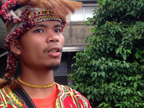 Datu Datu Tungig Mansumay, of the Talaingod Manobo