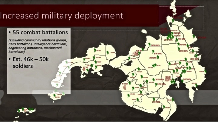AFP deployment in Mindanao