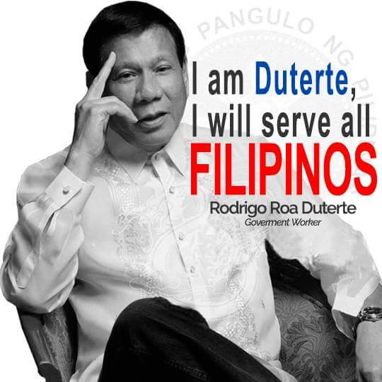 duterte serve all filipinos